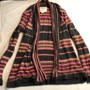 Woman's long sleeve cardigan